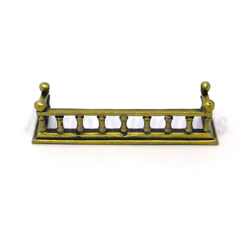 00308 Dolls House Metal Fireplace Fender 1//12th Scale