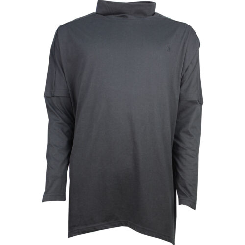 Mens New Turtle Neck Winter Pull Over Polo Top Size