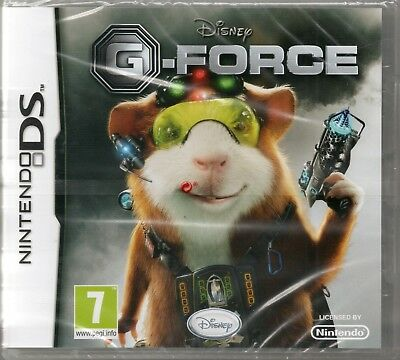 Disney G Force Game Ds Dsi Lite Gforce New Sealed Ebay