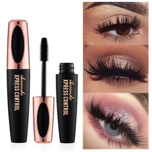 4D-Silk-Fiber-Eyelash-Mascara-Extension-Makeup-Black-Waterproof-Eye-Lashes-Kit