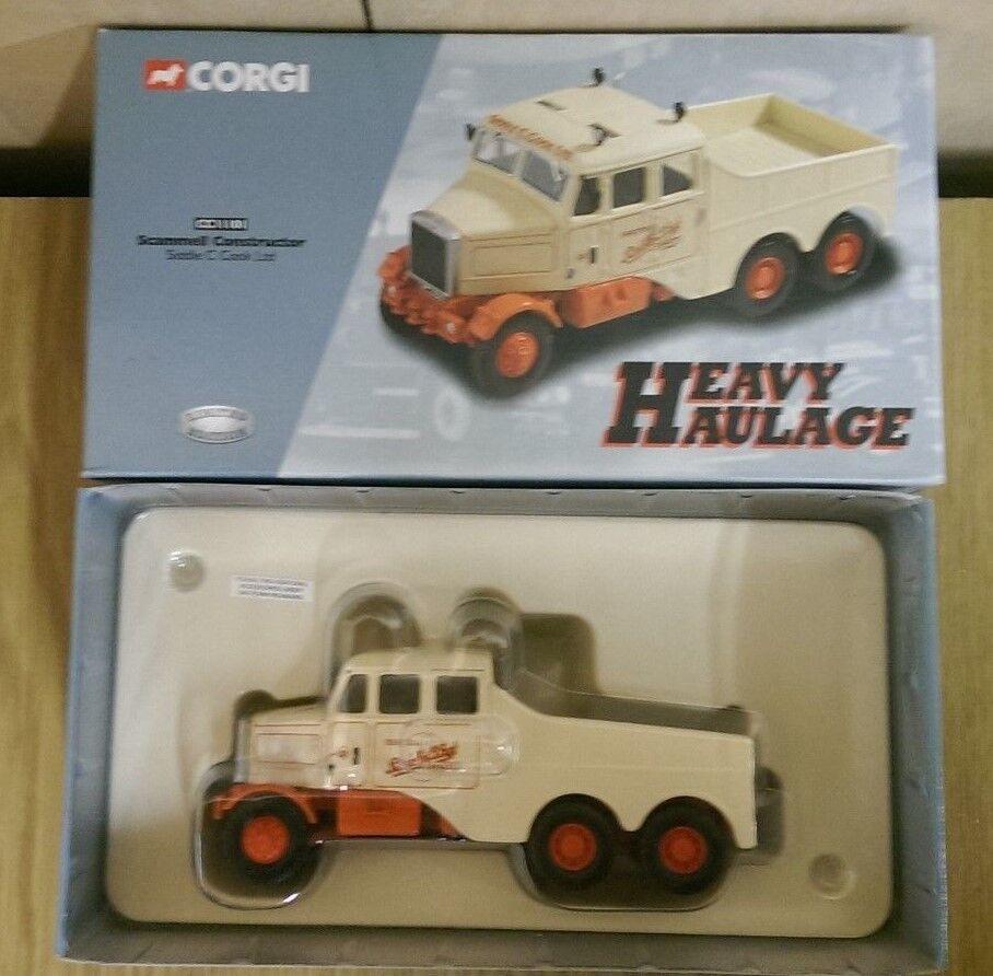 Corgi CC11101 Scammell Contstructor Siddle C. Cooke Ltd Ed No. 0003 of 5000
