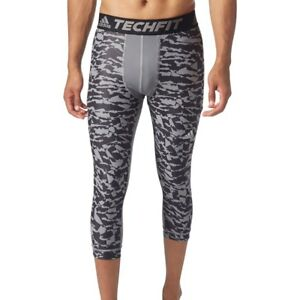 Adidas Techfit Base Mens Three Quarter Training Tight