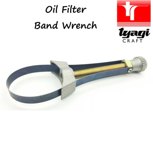 Oil Filter Wrench Filters Removal Tool Metal Band 60-105mm Mechanic