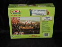 Ihc Ho Scale 1:87 Carnival Ride Carousel 5111 Model Kit Merry Go Round Nip