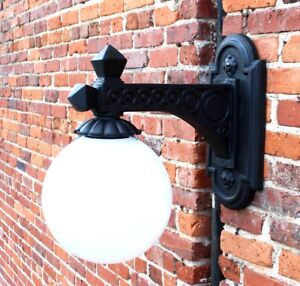 Victorian-Street-Wall-Light-Fixture-Wired-Vintage-Sconce-Antique-Old-Style
