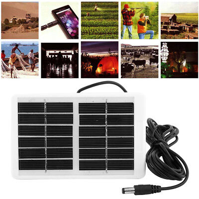 Multi-Function Waterproof Solar Panel Charger Power Supply For Emergency Lamp LJ
