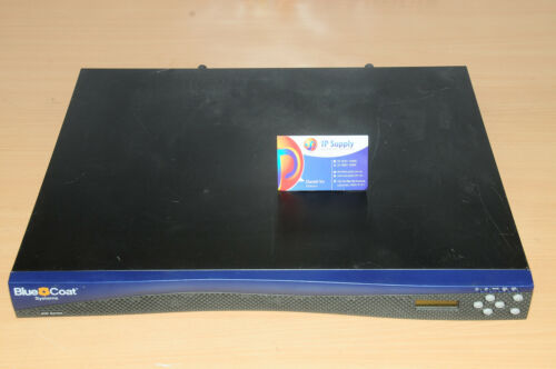 Blue Coat SG400-1 Proxy Security Firewall Appliance 090-02613 6MthWty TaxInv