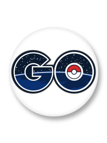 Magnet Aimant Frigo Ø38mm Pokemon Pokemon GO Logo