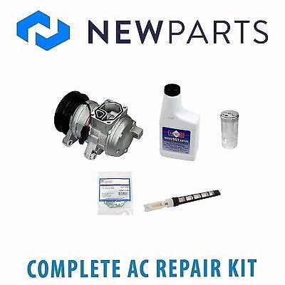 A//C Compressor and Condenser Kit Fits Jeep TJ Wrangler 2000-2006 L6 4.0L 77379