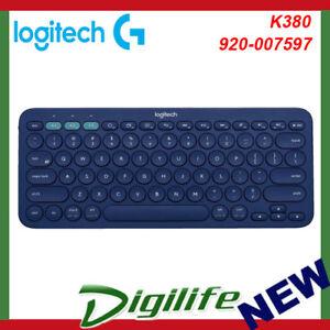 Details about Logitech K380 Multi-Device Wireless Bluetooth Keyboard - Blue