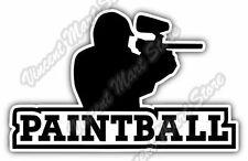 """Paintball Gun Sniper Rifle Sport Car Bumper Window Vinyl Sticker Decal 5""""X3.7"""""""