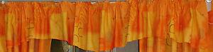 Querbehang-orange-Bogenquerbehang-Mikrofaser