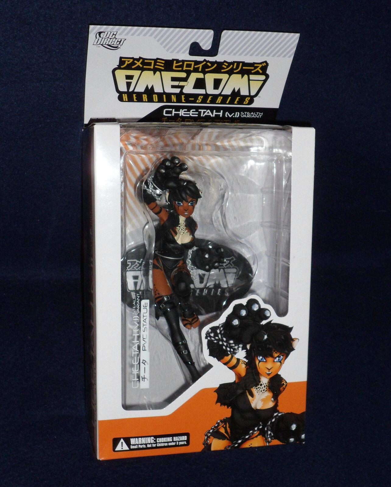 DC Direct Ame-Comi CHEETAH Stealth Variant 9  PVC Figure Statue Wonder Woman