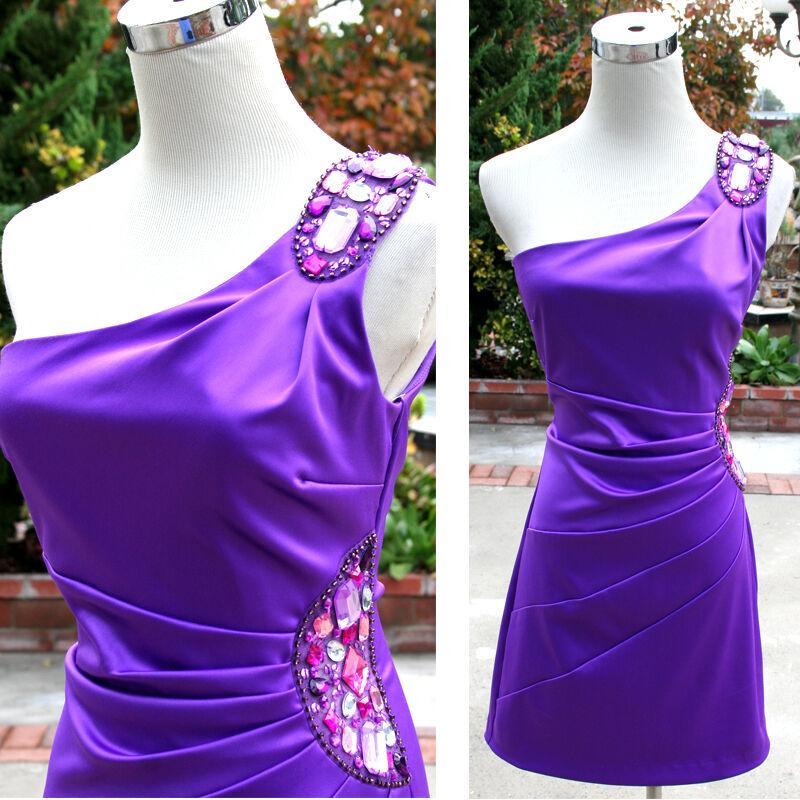 NWT WINDSOR  85 Purple Juniors Party Prom Dance Dress 5