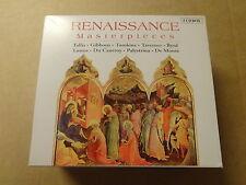 5 CD BOX / TALLIS - GIBBONS - TOMKINS - DE MONTE: RENAISSANCE MASTERPIECES