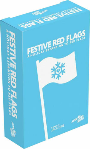 SKY3389 Skybound Entertainment Red Flags Festive Red Flags