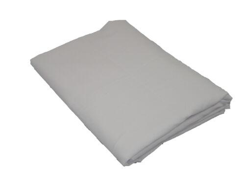 """2 x ménagère en coton mélangé blanc taies d/'oreiller 76 x 68 pick 20/"""" x 30/"""" 51 x 76cm"""