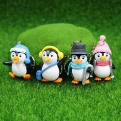 Pinguin Keychain Süß Anhänger Figur Schlüsselanhänger kleiner Anhänger Tasc V1W9