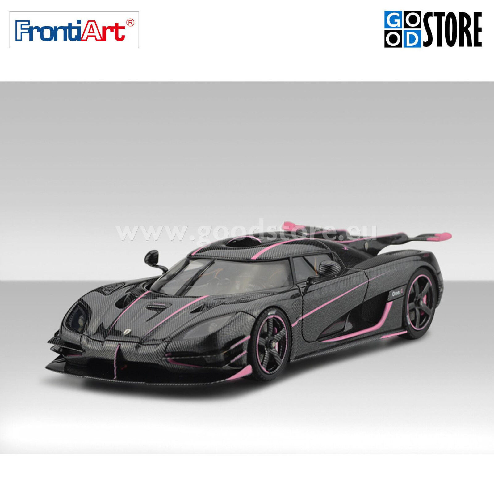 Koenigsegg One 1 Voiture Modèle Comme neuf IN BOX frontiart F038-55 1 43 DE COLLECTION Limited Edt.