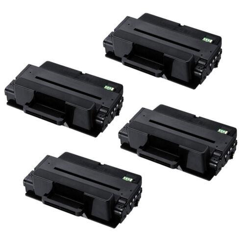4PK  MLT-D205L MLTD205L Toner Cartridge for Samsung ML-3310 3710 SCX-4833 5637