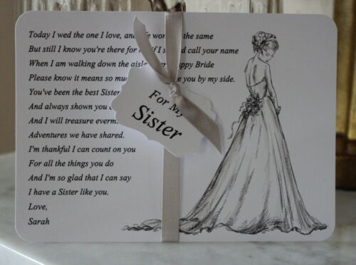 Wedding Cards for Sisters collection on eBay!
