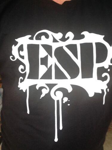ESP Guitars Shirt Size SM MD LG XL 2X pick size