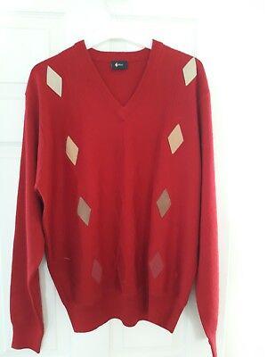 Gabicci Vintage... Taglia M.... Bella Rossa.-mostra Il Titolo Originale