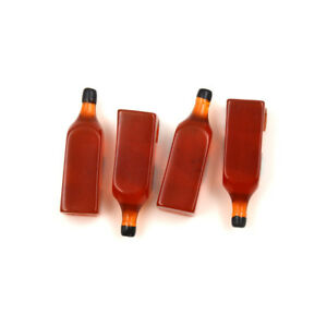 4PCS-Whiskey-Black-Square-Bottle-Miniature-Wine-Drink-1-12-Dollhouse-Decor-Kh