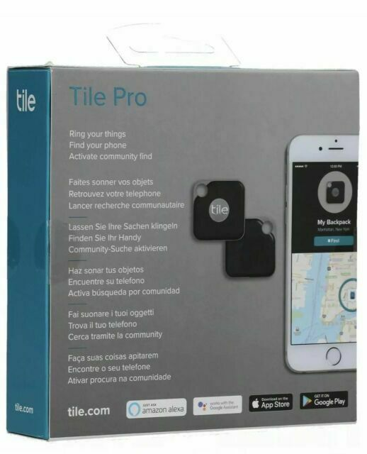 Tile Pro RT-15001 Item Tracker - Black