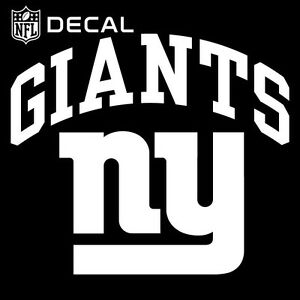 stockdale 6 quot x6 quot  nfl logo vinyl new york ny giants decal giant free vector giants baseball logo vector
