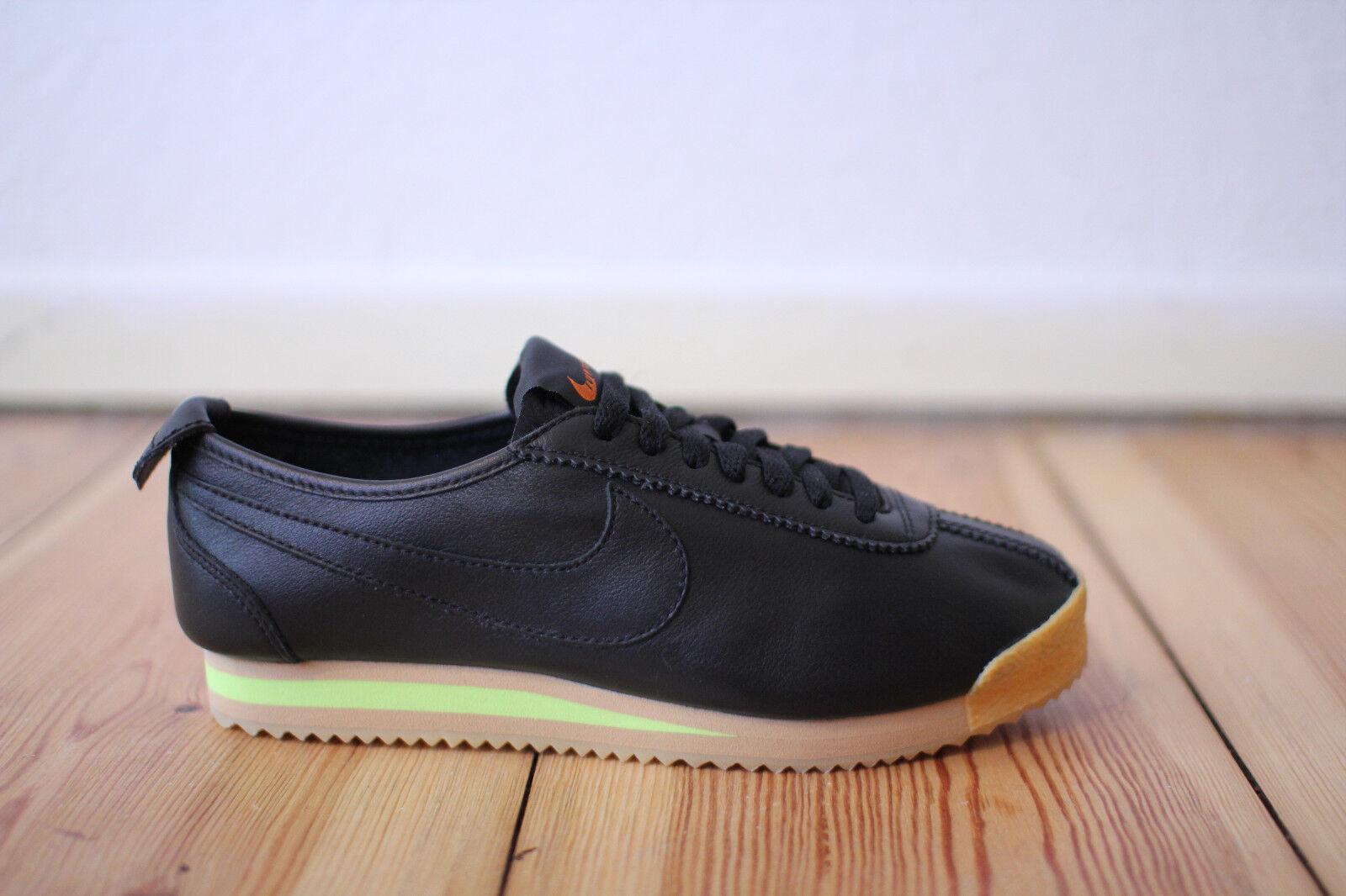 Nike Cortez 72 WMNS Leder Schwarz Gr. 38,39,40 NEU & OVP