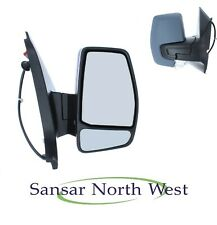 Transit Custom Drivers Electric Power Folding Door Mirror Primed O//S RIGHT