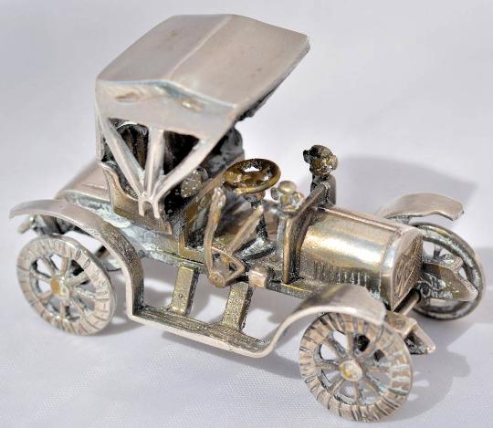 Mini Car  collezione Opel 1919 Siver 925