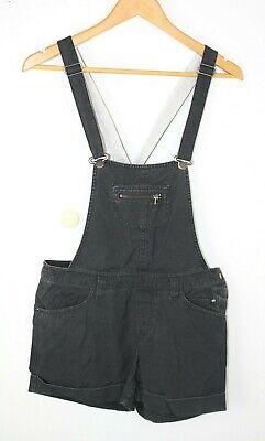Damen kurze Jeans Latzhose H&M 36 S grau denim kurze Hose anthrazit HM A15C   eBay