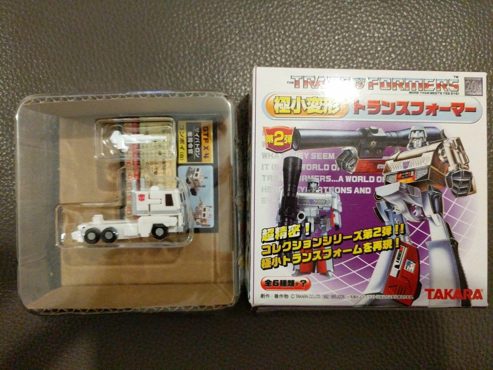 Takara Transformers el más pequeño del mundo programas serie 2 Ultra Magnus Raro Chase