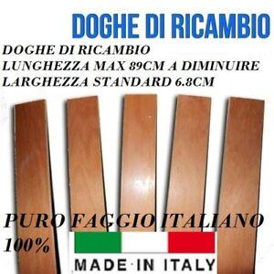 DOGA DOGHE DI RICAMBIO PER RETI LETTO IN LEGNO -TUTTE LE MISURE-LARGHEZZA 6.8 cm