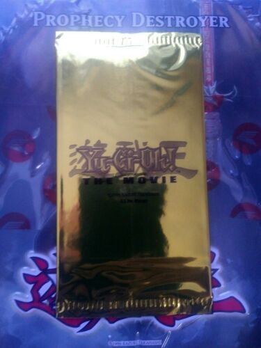 Gold Movie Pack 2004 sealed The Movie Pyramid of Light Yu-Gi-Oh
