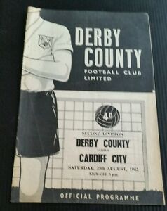 Derby County v Cardiff City Programme 250862 - <span itemprop='availableAtOrFrom'>Nuneaton, United Kingdom</span> - Derby County v Cardiff City Programme 250862 - Nuneaton, United Kingdom