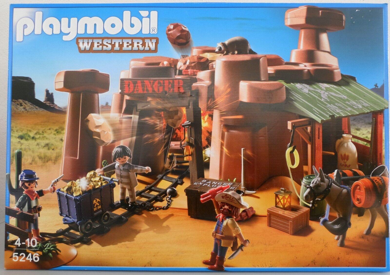 NEU PLAYMOBIL® WESTERN 5246 Goldmine mit Sprengkiste OVP  | Ich kann es nicht ablegen