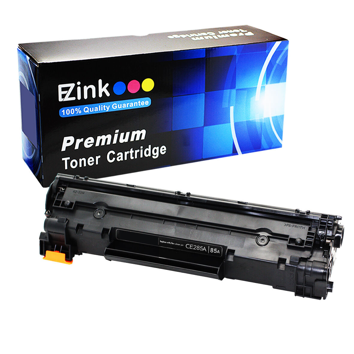1PK 85A CE285A Black Toner Cartridge For HP LaserJet Pro