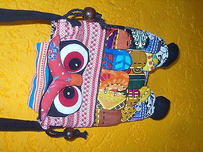 kleine Eulen Taschen Handgenäht alles Unikate Orginell verrückt schauen sie 11