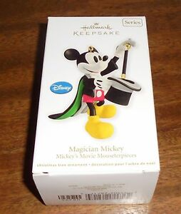 NEW Hallmark Keepsake DISNEY Christmas Ornament ~ MAGICIAN ...