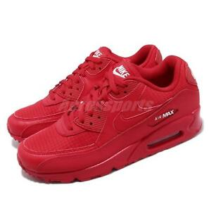 buy online 653b4 5a7a3 Image is loading Nike-Air-Max-90-Essential-University-Red-October-