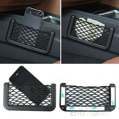 Universal Car Seat Side Back Storage Net Bag Phone Holder Pocket Organizer PXA10