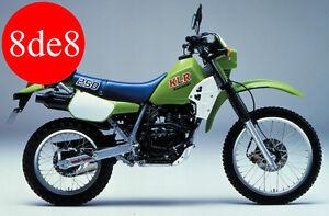 kawasaki klr 250 1984 manual de taller en cd en ingles ebay rh ebay es 1996 Kawasaki KLR 250 Teal 2000 KLR 250