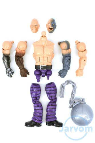 Marvel Legends 6 inch Build a Figure Absorbing Man Parts Heads Arms Leg Torso