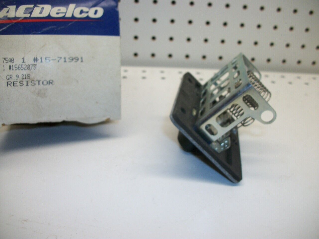 HVAC Blower Motor Resistor ACDelco GM Original Equipment 15-71991