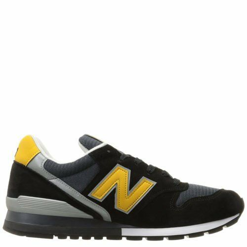 New Balance 996 Made in USA Black Yellow Grey White M996CSMI Size 6-7