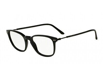 Accurato Occhiali Da Vista Montatura Giorgio Armani Autentici Ar7086 Nero 5017