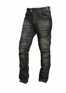 Mens-Motorcycle-Motorbike-XTRM-Bike-Rider-Protective-Wear-Denim-Jeans-Black